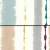 Tiisus imprimés rose poudré et bleu celadon