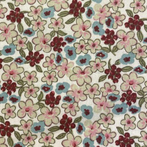 tissu ameublement tissu floral et végétal - maison bouquières